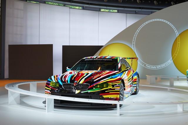 BMW célèbre ses 40 ans de BMW Art Cars 356307P90185159