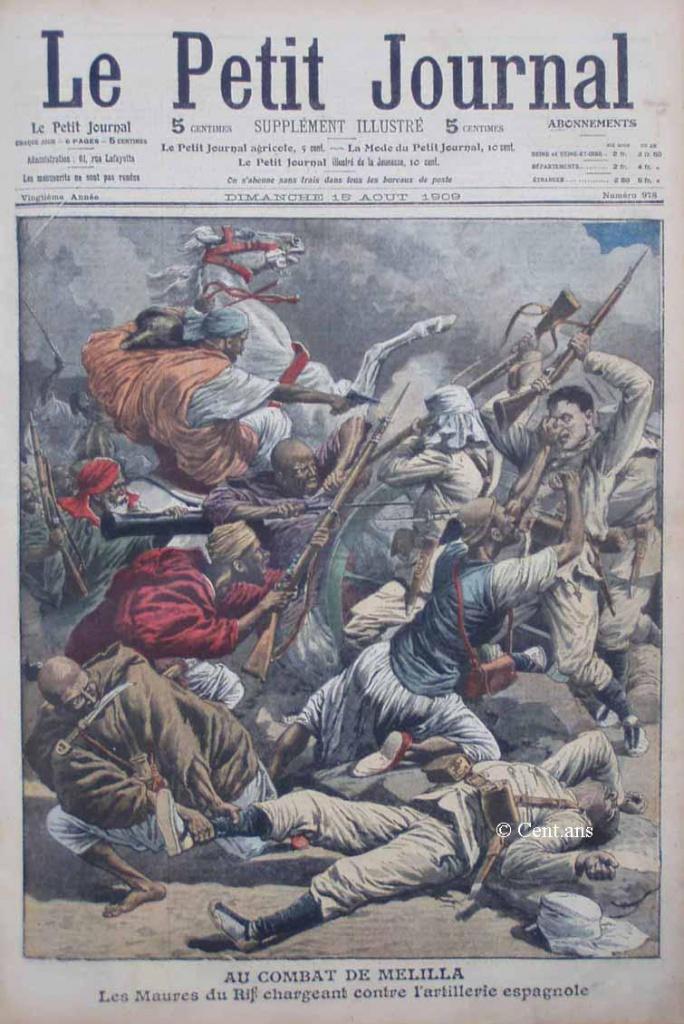 صفحات من تاريخ المغرب الحديث من خلال Le Petit journal illustré 356812pj97815081909