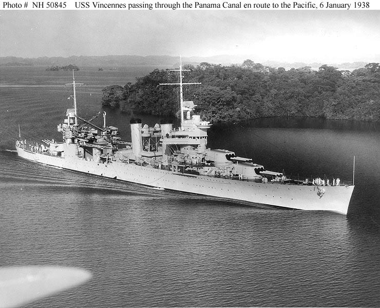 USN CROISEUR LOURD USS WICHITA 357134USSVincennes2