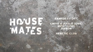 PROG OCTOBRE 2015 @ HERETIC CLUB, Bordeaux 358024HOUSEMATES2171015