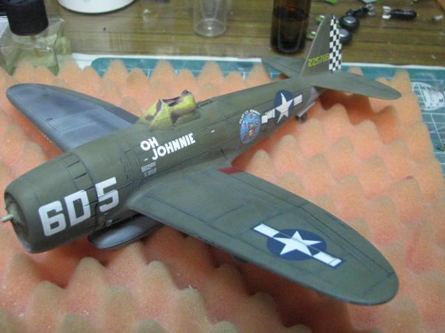 Restauration P-47D Monogram 1/48 .......Terminé!  - Page 2 358163IMG5925