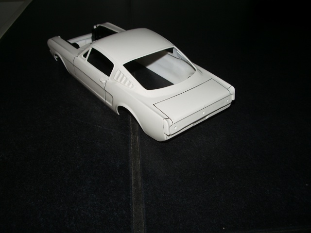 mustang shelby 350 GT 1965  kit monogram 1/24 . 358248IMGP3044