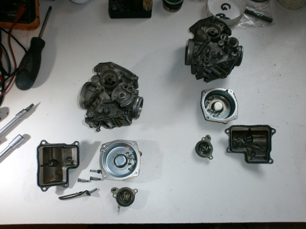 Nettoyage carburateurs de transalp 600 359973P1310001