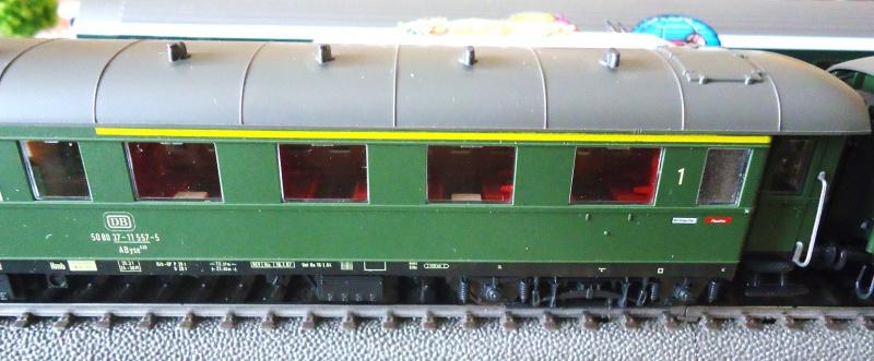 Roco ho: voitures de la DB pour train express 360155DSC03555