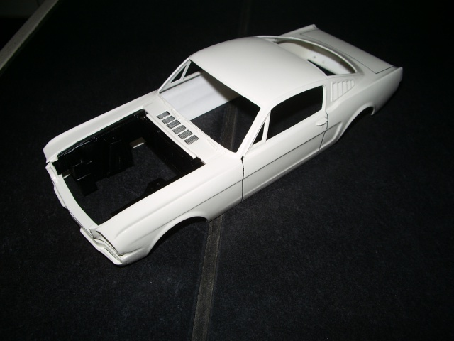 mustang shelby 350 GT 1965  kit monogram 1/24 . 361168IMGP3043