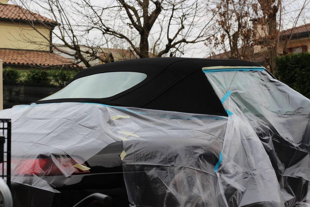 PORSCHE 993 Cabrio - Preparazione interna/esterna 3612240911