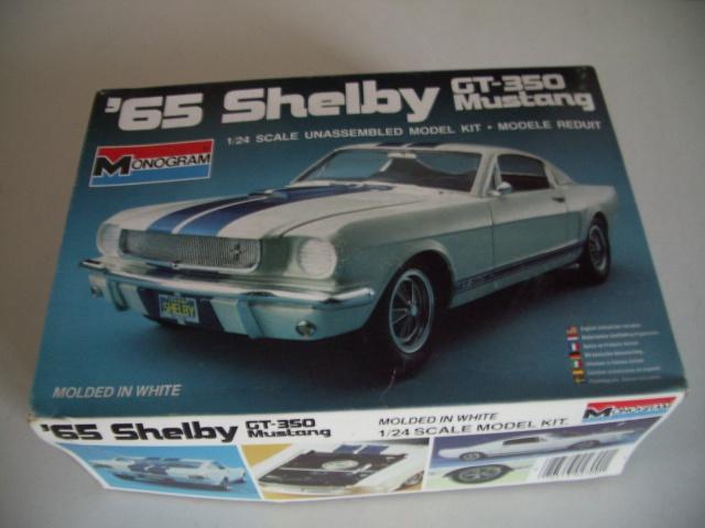 mustang shelby 350 GT 1965  kit monogram 1/24 . 361541IMGP2999