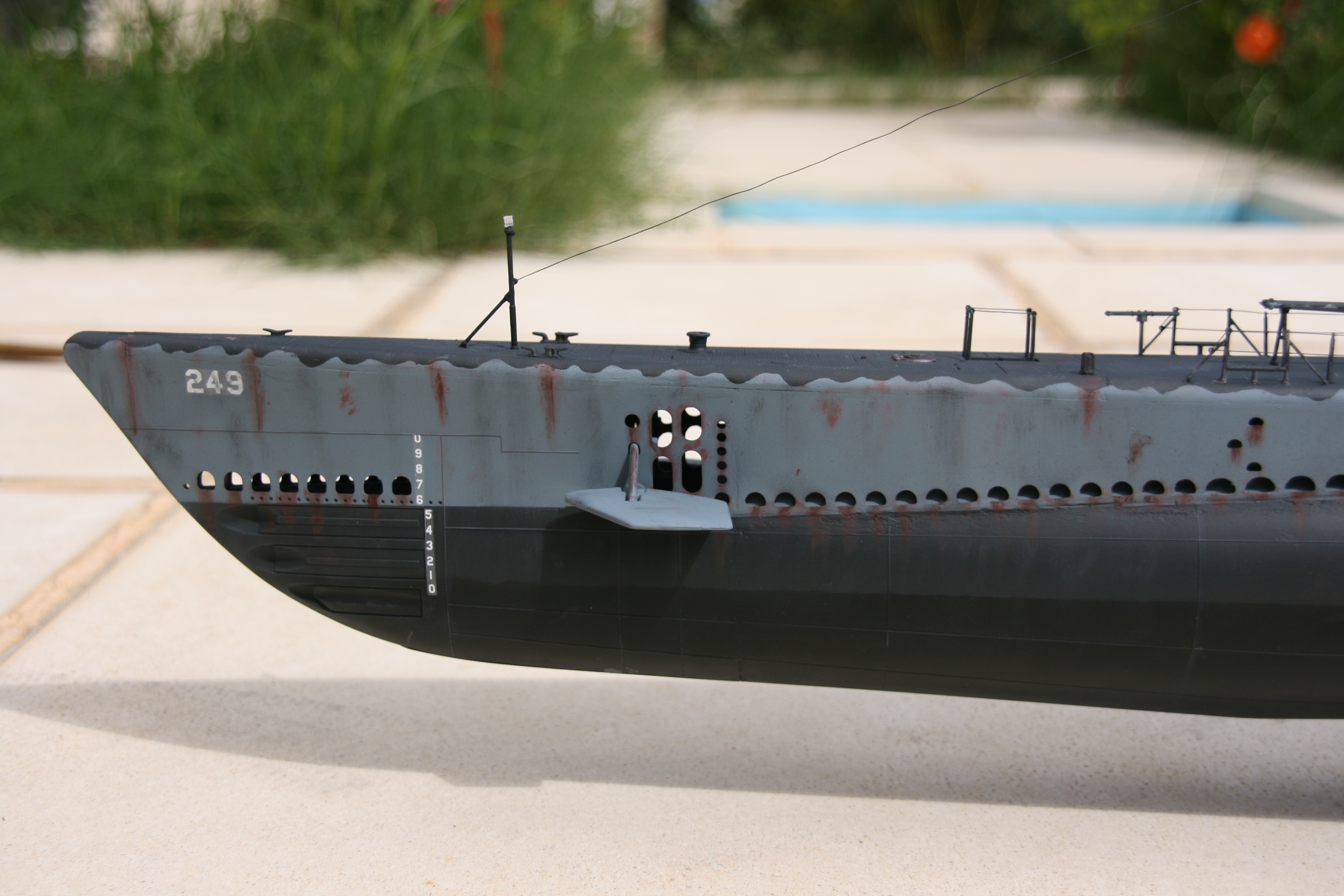 USS FLASHER, Classe Gato, 1/72° 362321IMG7835