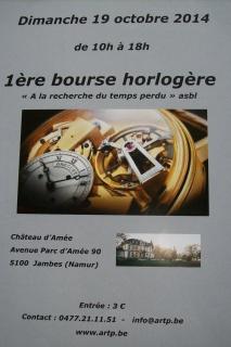 1° bourse horlogère à Namur(Belgique) 362474boursehorlogre