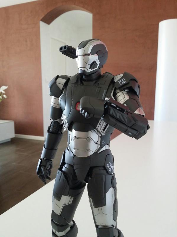 """red360 collec"""": War Machine MKII Diecast Hot Toys 362677201407161557541"""