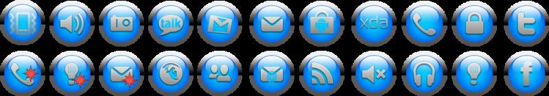 Nové ikony toogles pro Jkay de luxe 363489blue