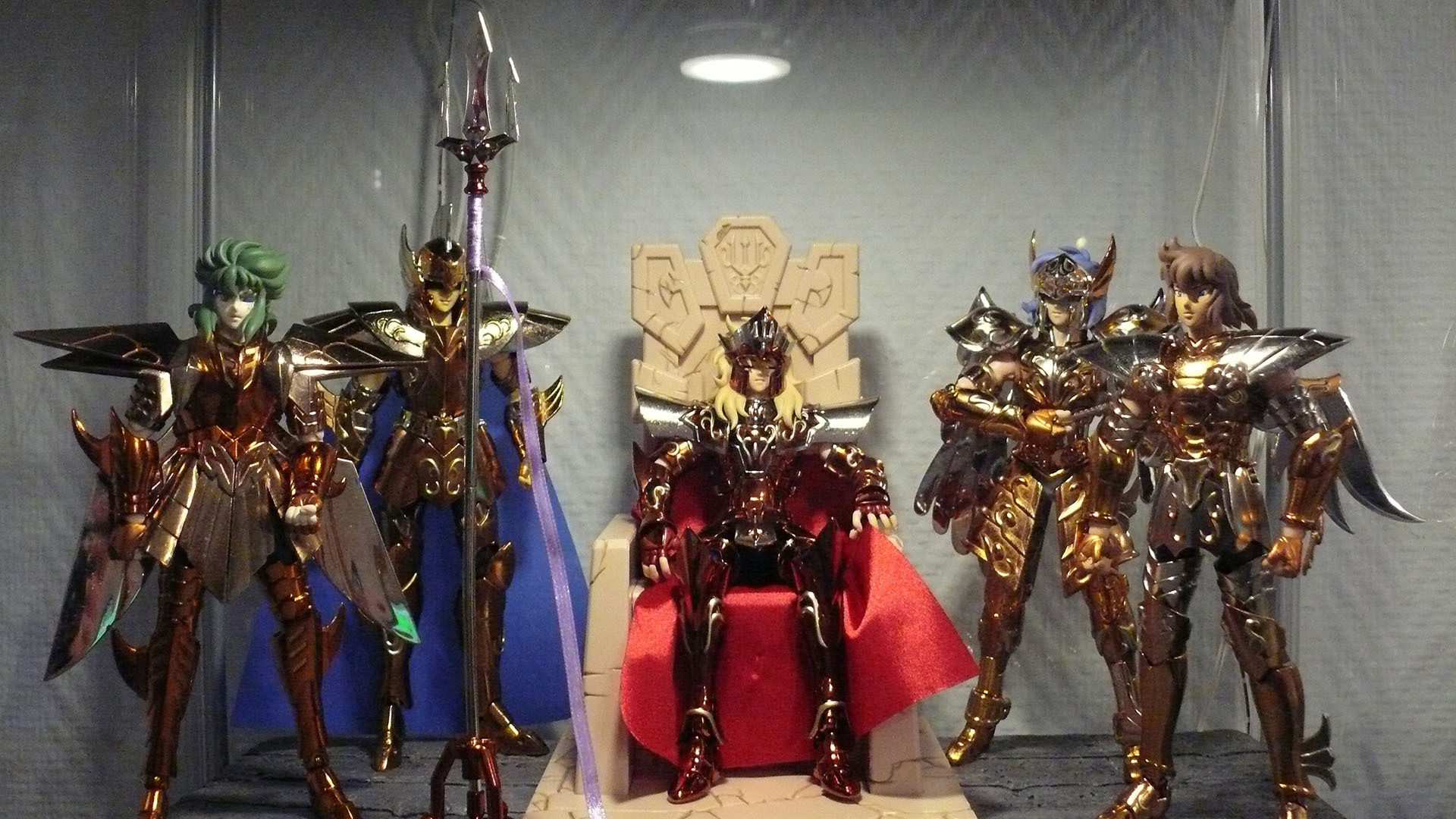 Figurines Saint Seiya (Chevaliers du Zodiaque) 363735POSEIDON2
