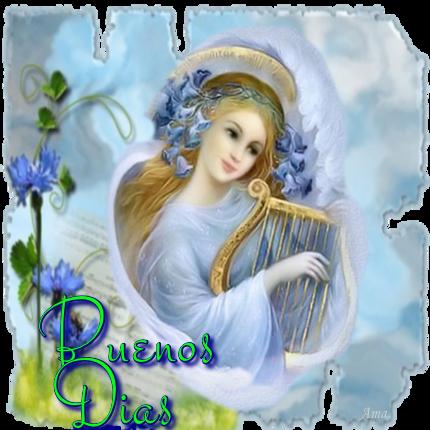 Arcangel Tocando el Arpa 365235dias