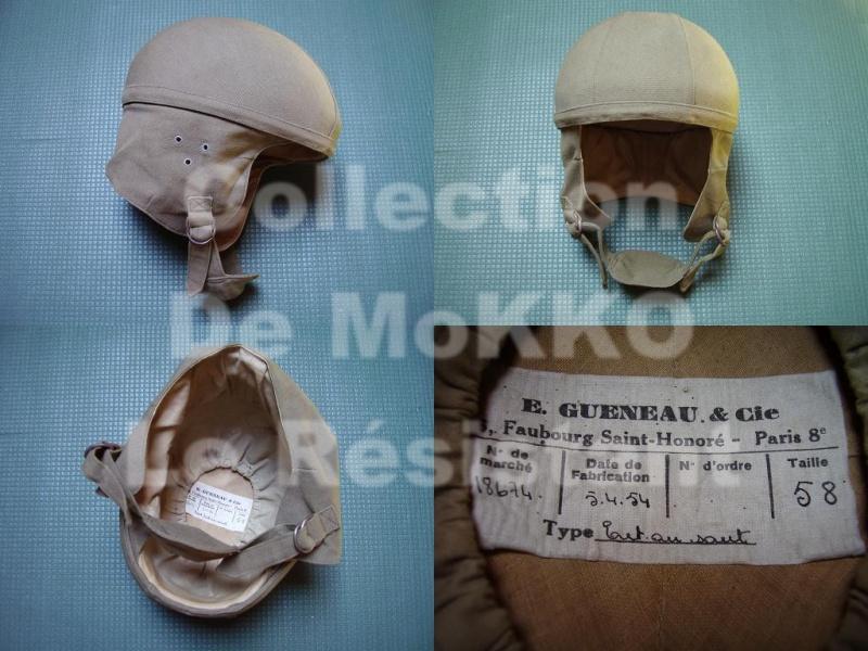 *Casque Gueneau Type 202 pour l'entraînement au saut des parachutistes 3655991954casquegueneau