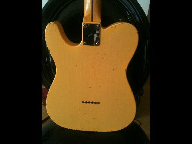 "Fender Custom Shop Telecaster 52 HB Relic ""Time Series"" 367377Teledos"