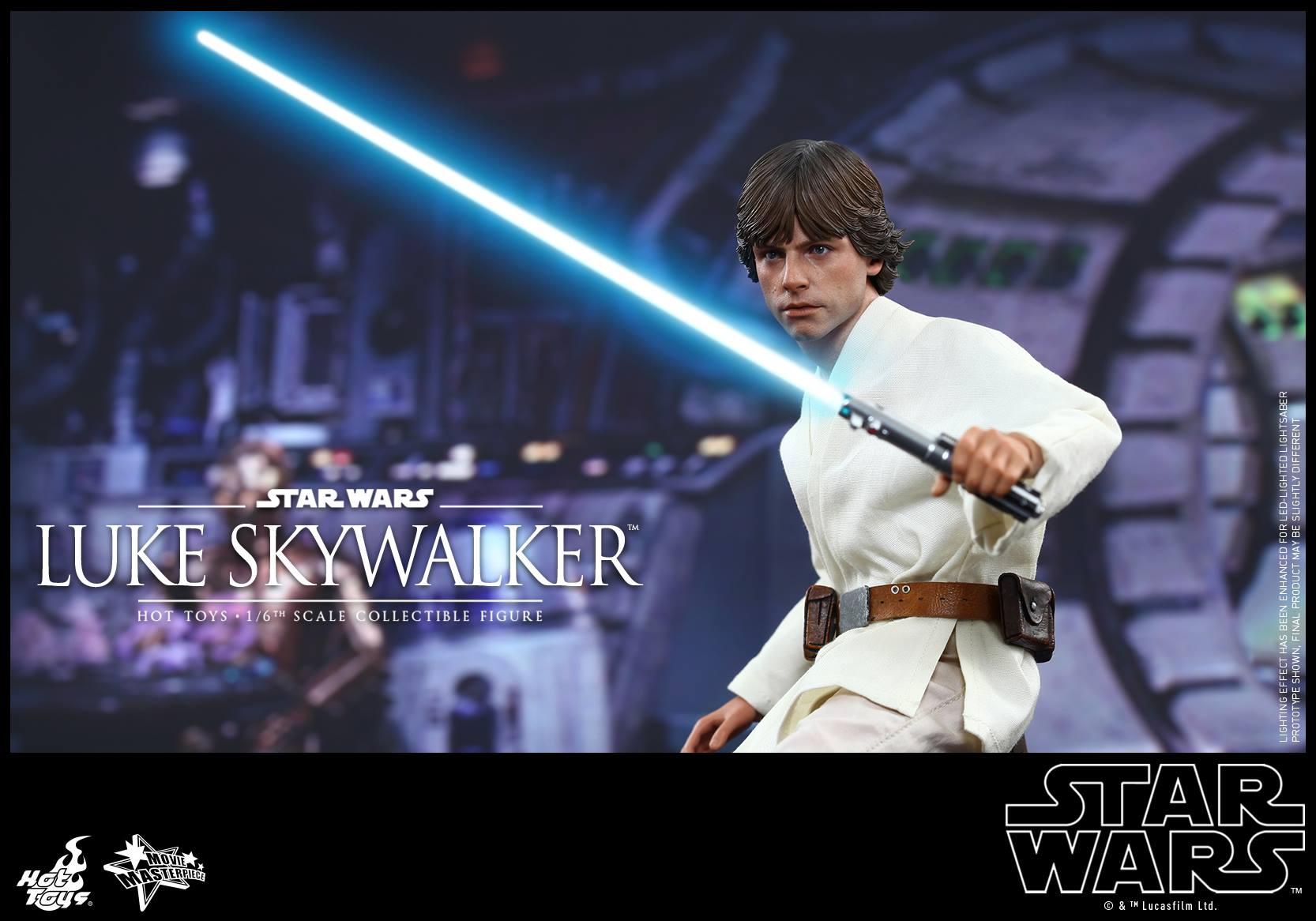 HOT TOYS - Star Wars: Episode IV A New Hope - Luke Skywalker 367576101