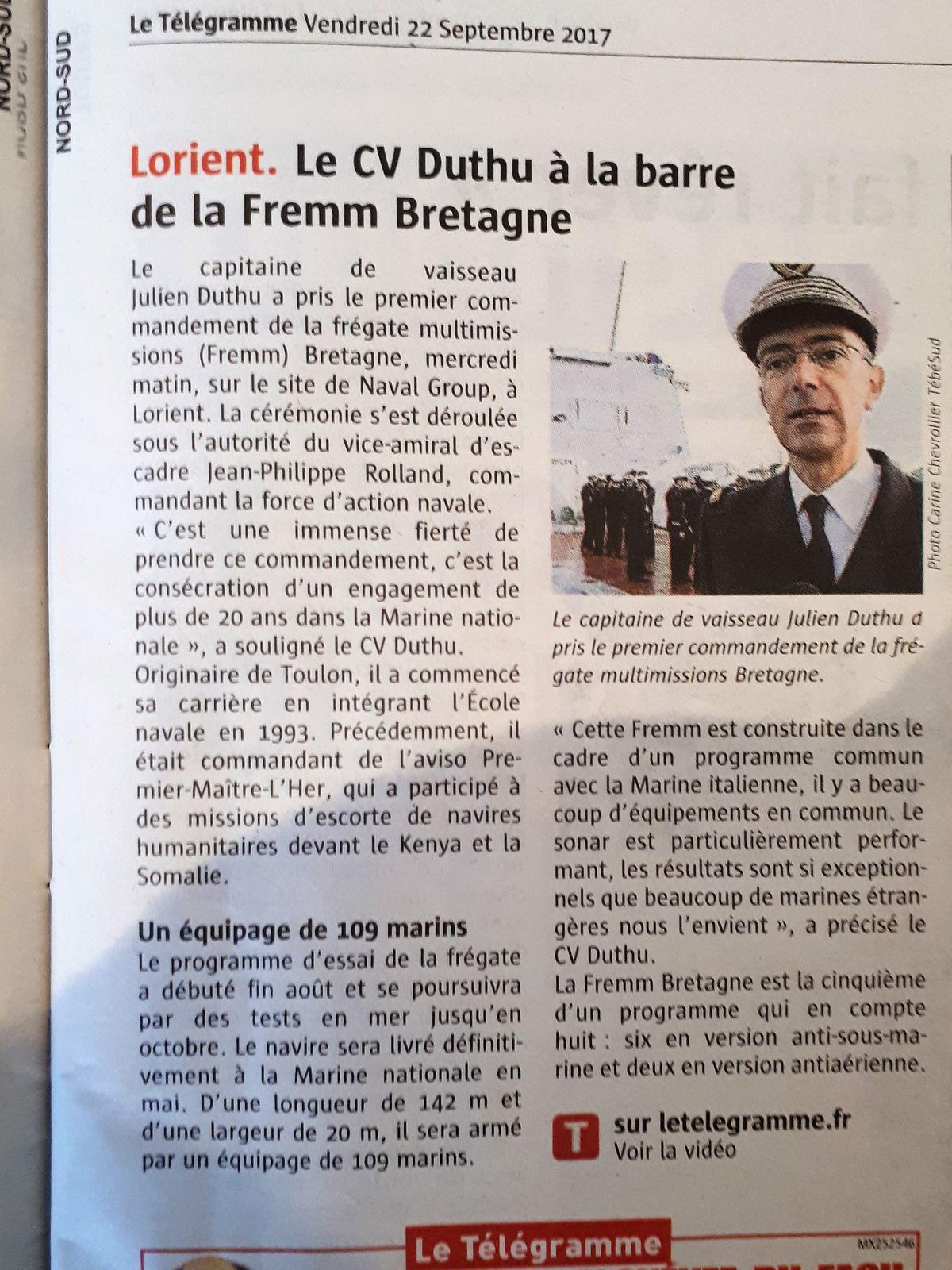 [ Divers frégates ] FREMM Bretagne  36863620170922114736