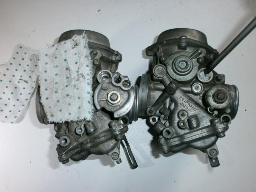 Nettoyage carburateurs de transalp 600 370708P1310003