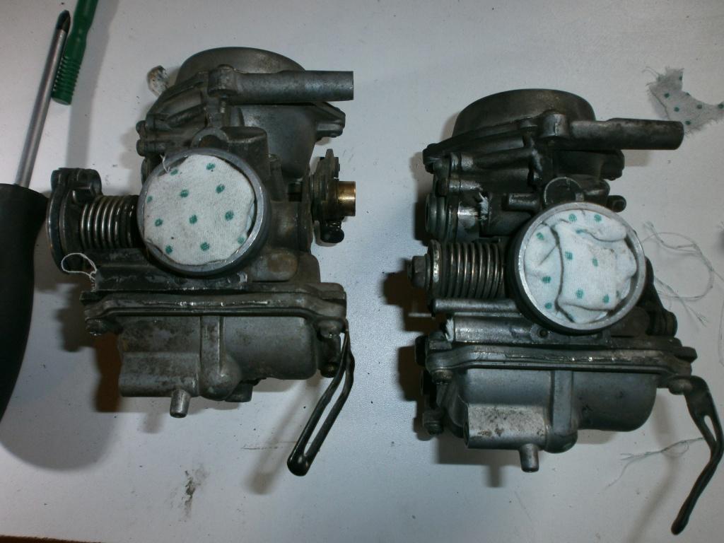 Nettoyage carburateurs de transalp 600 374684P1310007
