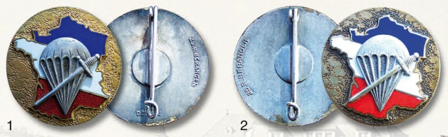 LES INSIGNES DU BATAILLON DE CHOC 1943/1963. 376230InsignesChoc1946Drago