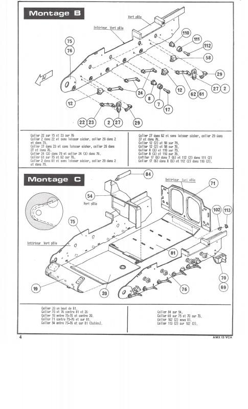 AMX 13 VCA - (Réf. L786) 1/35  380092VCA004