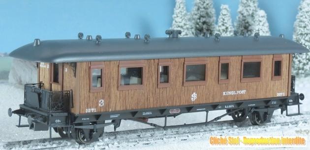 Marklin Coffrets historiques des C.F. suédois voitures en bois 381466Marklin78703voitureIMG3885R