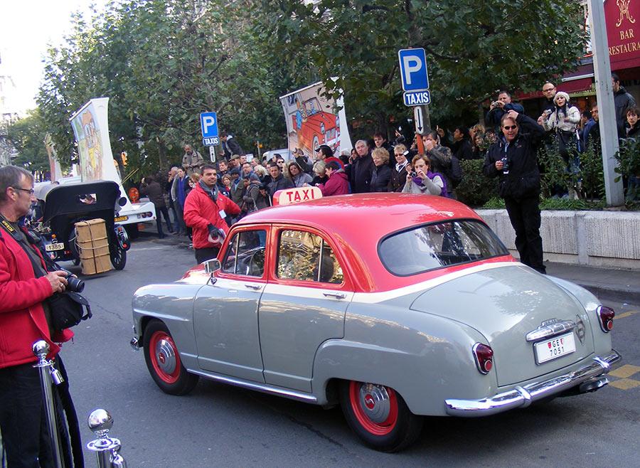 """Bruxelles côté BD  """"Tintin en automobile"""" 382044DSCF6165"""