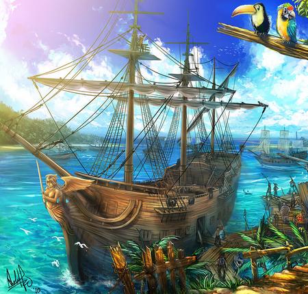 Red King's Pirates 382130Ship450