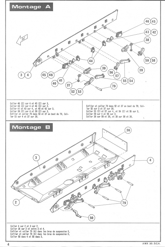 AMX 30 DCA - (Réf. L811) 1/35 382817HellerAMX30DCA811004