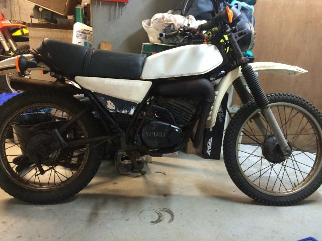 Restauration Yamaha 125 DTMX 1979 382854IMG3614