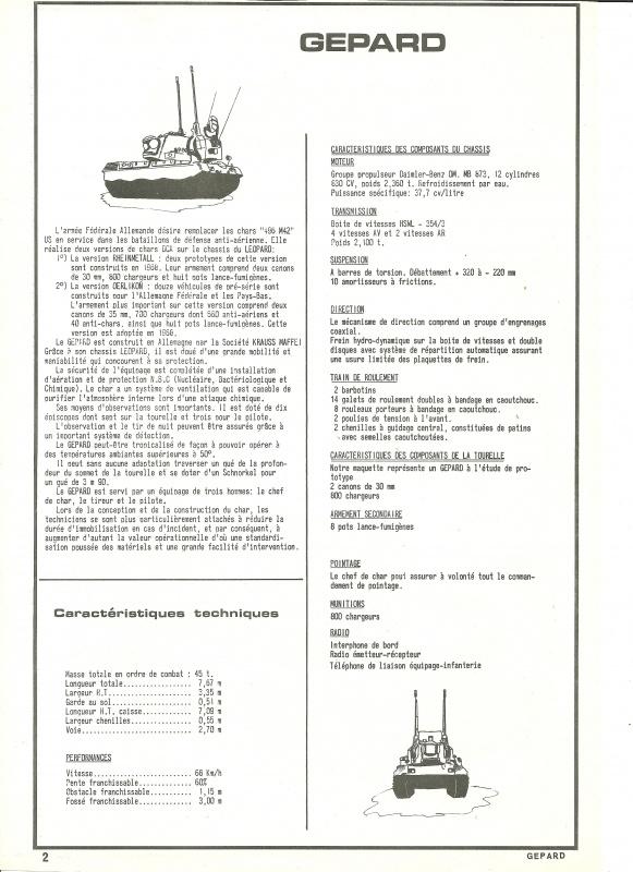 Char GEPARD  - (Réf. 820) 1/35 384022HellerGpard820002