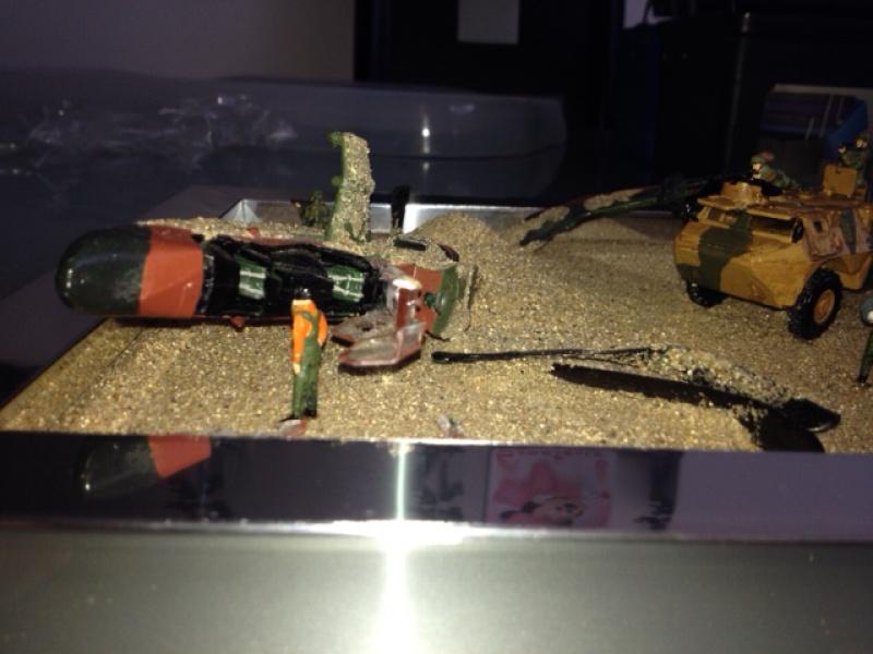 Diorama 1/72 secours crash 384404image12