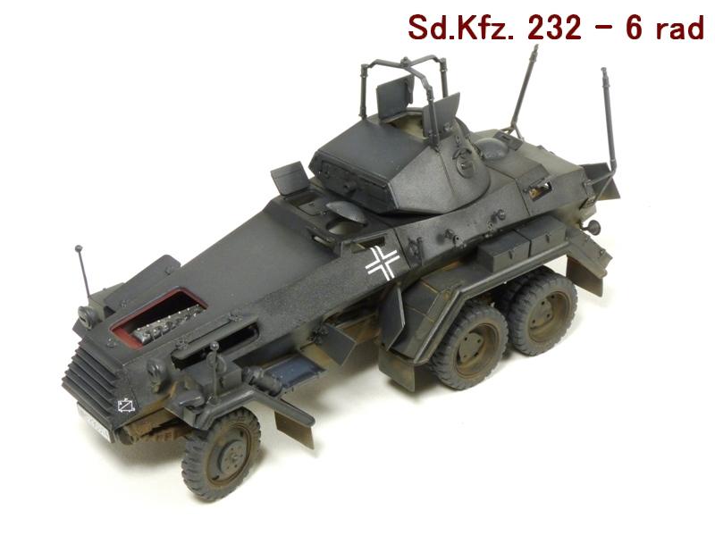 Sd.Kfz. 232 6 Rad - France 1940 - Italeri 1/35 385131P1030995