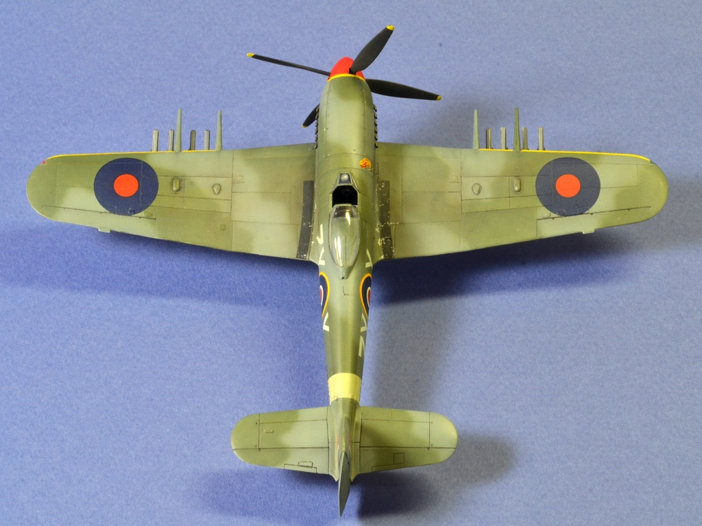 Hawker Typhoon Airfix 1/72 385206Typhoon4
