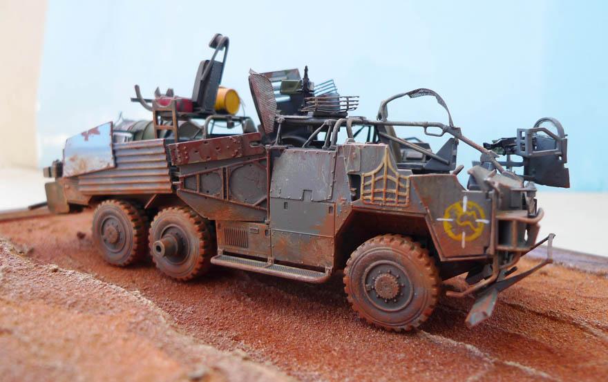 """Coyote"" post apocalypse - Conversion base Airfix - 1/48. 385700Coyote35"
