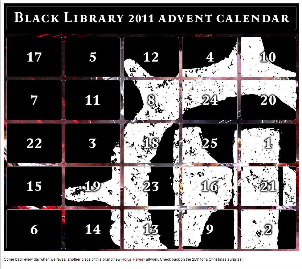 Black Library Advent Calendar 2011 386882adventcalendar
