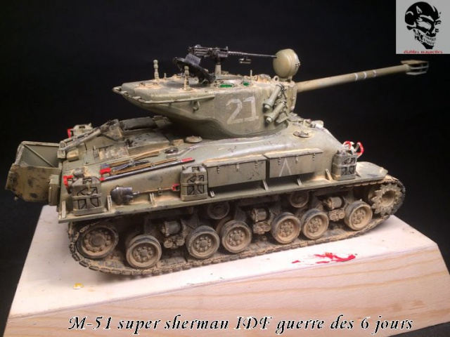 M-51 Super Sherman IDF - Academy 1/35 386931IMG4908