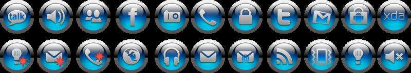 Nové ikony toogles pro Jkay de luxe 387895blackblue
