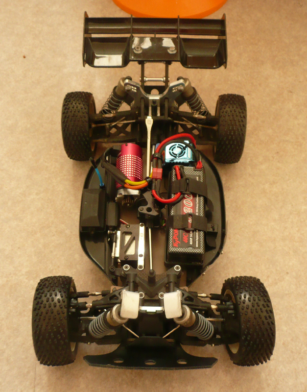 Conversion Hyper 8 rtr en brushless 388047P1030045