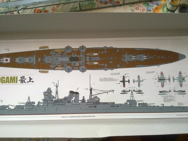 croiseur lourd Mogami au 1/350 par Pascal 94 - Tamiya  38854820092010778