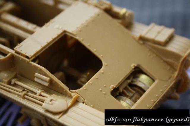 sd.kfz 140 flakpanzer (gépard) maquette Tristar 1/35 388769IMG1650