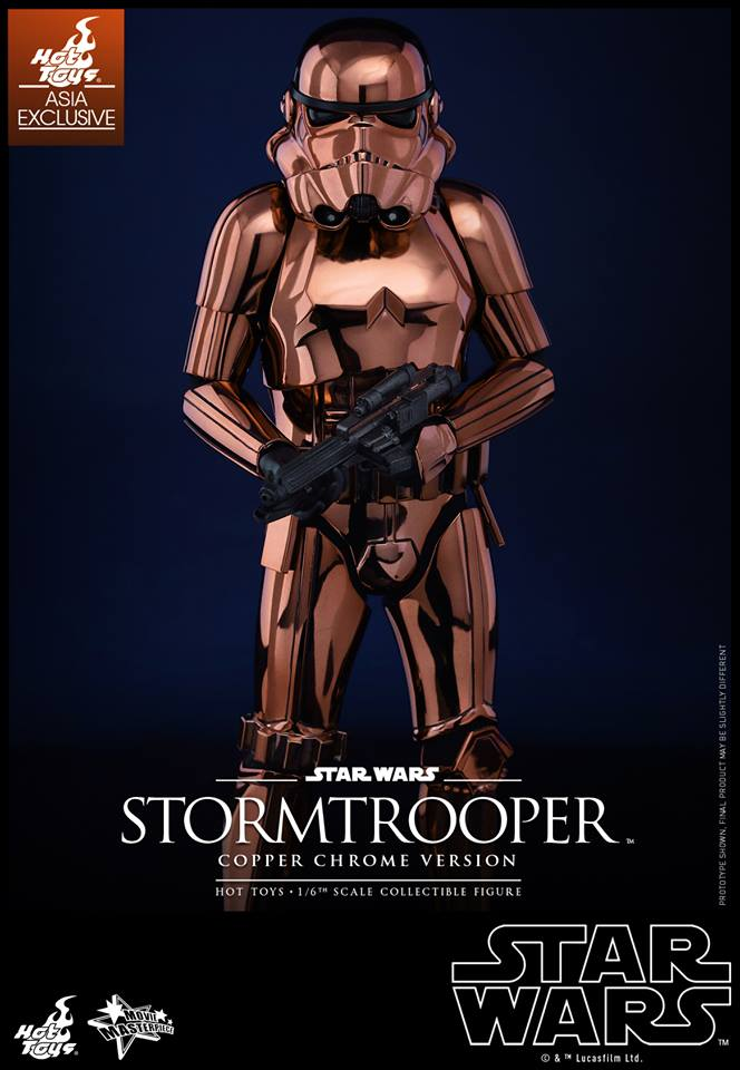 HOT TOYS - Star Wars: TFA - Stormtrooper Copper Chrome 390090101