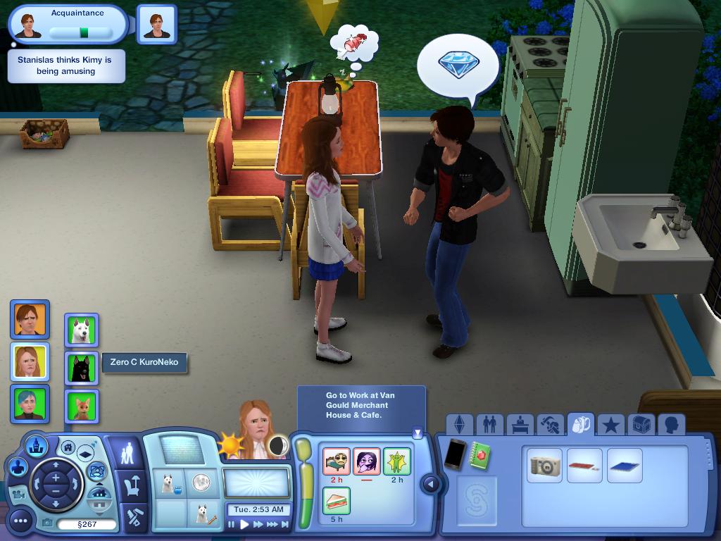 Les Sims ... Avec Kimy ! 391961suitedeladiscution