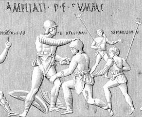 La mort du gladiateur : un suicide accompagné. 392554zzz