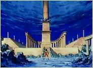 Pilier et temples du Pacifique Nord