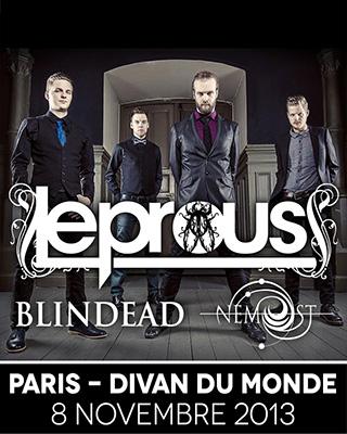 08.11 - Leprous + Blindead + Nemost @ Paris 393644Leprous2013