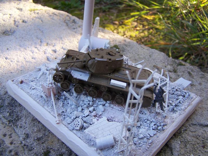 """""""Le duel"""" KV1c vs Panzergrenadiere Russie 1942 (terminé) 3943841005488"""