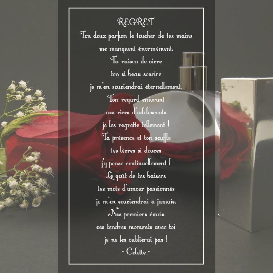 poeme du jour de colette 396097poeme145regret