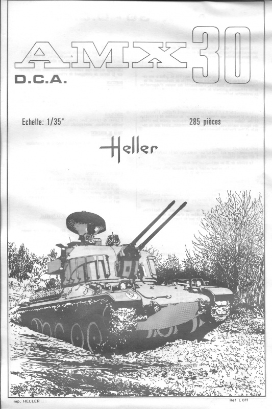 AMX 30 DCA - (Réf. L811) 1/35 396505HellerAMX30DCA811001