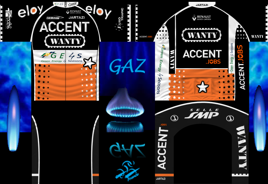 ACCENT JOBS-WANTY 396836maillot